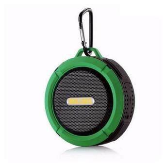 Mirabell ลำโพงไร้สายบลูทูธกันน้ำ Wireless Speaker (Black)