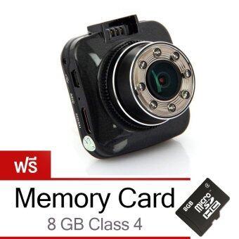 Morestech กล้องติดรถยนต์ G55 NT96650 (Black) ฟรีขายึดกับก้านกระจกมองหลัง+Memory Card 32 GB Class10
