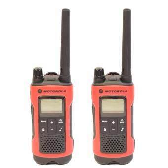 Motorola วิทยุสื่อสาร Talkabout T246 แพ็คคู่ ถูกกฏหมาย 2 watts (พร้อมแบตเตอรี่)