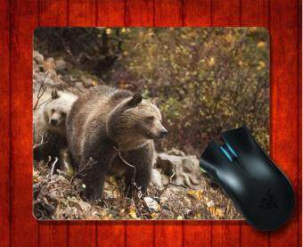 MousePad Bears On The Mountain Animal for Mouse mat 240*200*3mm Gaming Mice Pad - intl