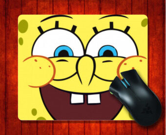 MousePad SpongeBob SquarePants for Mouse mat 240*200*3mm Gaming Mice Pad - intl