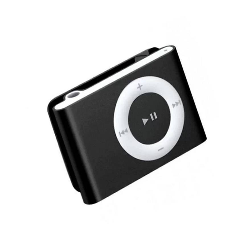 MP3+ Mini Clip MP3 Player Music Speaker เครื่องเล่น MP3 ขนาดพกพา - (สีดำ)1ชิ้น
