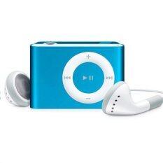 MP3+ MP3 Player Music Speaker เครื่องเล่น MP3พร้อม หูฟังขนาดพกพา (สีฟ้า)1ชิ้น