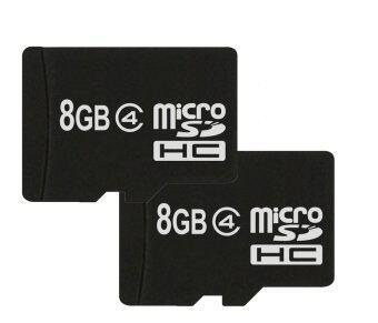 New เมมโมรี่การ์ด 8GB Micro SD HC SDHC MicroSD Memory Card 8 G GB 2 ชิ้น