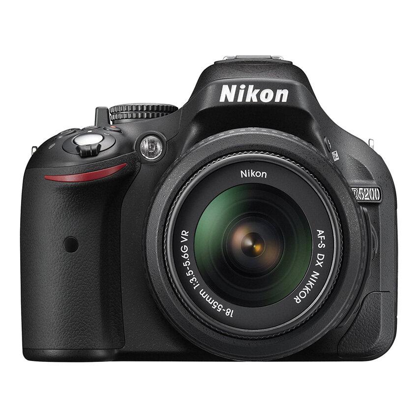 ด่วนNikon กล้อง DSLR รุ่น DSLR D5200 W/AF-S 18-55 VR KIT (สีดำ) กำลังลดราคา