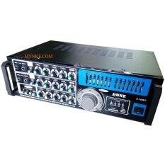 NKE AUDIO เครื่องขยายเสียง ฺBLUETOOTH คาราโอเกะ เพาเวอร์มิกเซอร์ USB MP3 SD CARD รุ่น A-ONE X-128BT