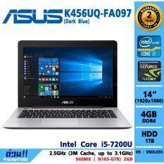 Notebook Asus K456UQ-FA097 (Dark Blue)