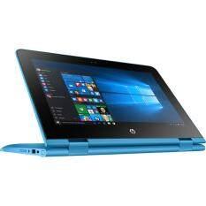 โน็ตบุ๊ค Notebook HP x360 Convertible 11-ab040TU-Aqua Blue(N3710)1HP41PA#AKL มีโปรแกรมพร้อมใช้งาน