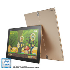Notebook IP MIIX 700-12ISK 6Y 8G 256 10H/Core M5 6Y54 , 8GB, 256GB,  W10 HOME High End; Active Pen; Wifi Only /Golden