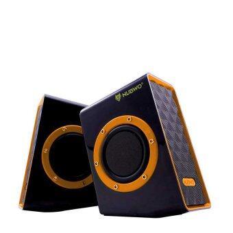 NUBWO Acoustica Extra Bass ลำโพง USB รุ่น NS-001 - สีส้ม