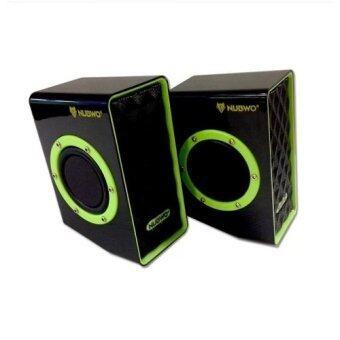 NUBWO Acoustica Extra Bass ลำโพง USB รุ่น NS-01 (Green)