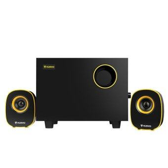 NUBWO USB Speaker 2.1 Mean Machine NS-030 ลำโพง (Yellow)