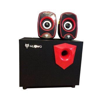 NUBWO ZoniXShield ลำโพง USB 2.1 รุ่น NS-031 - (สีดำ,แดง)