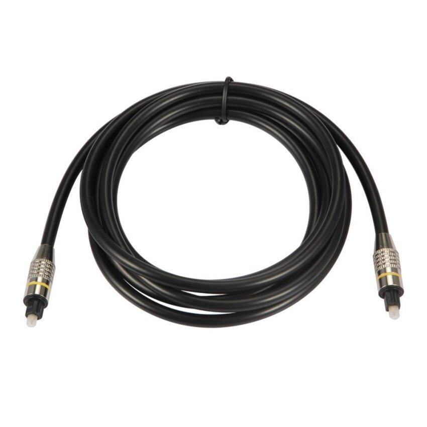 OD6.0 Digital Optical Audio Cable Fiber Optic Cable Toslink Cable (3M) -