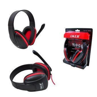 ราคา OKER Headset SM-880 (Black/Red)