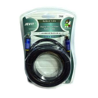 สาย Optical Audio Jevit - Digital Optical Fiber Audio Cable สายถัก ความยาว 3.0 เมตร