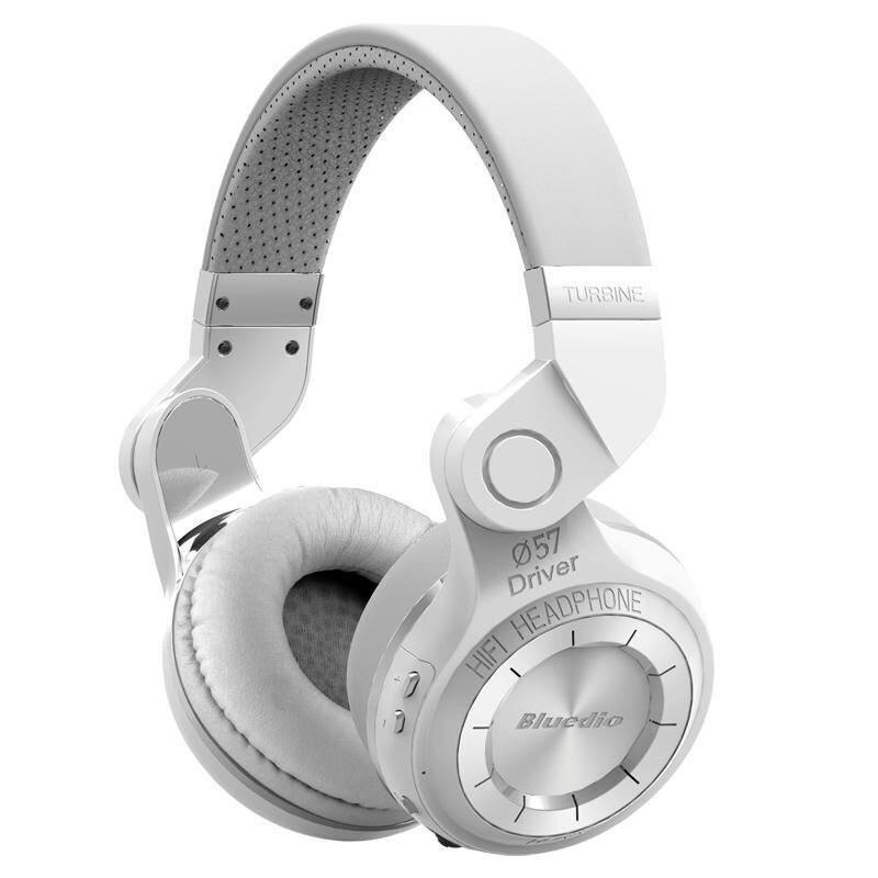 Original Bluedio T2 Bluetooth Stereo Headphones Wireless Bluetooth 4.1 Headset Hurrican Series On the Ear Headphone - intl
