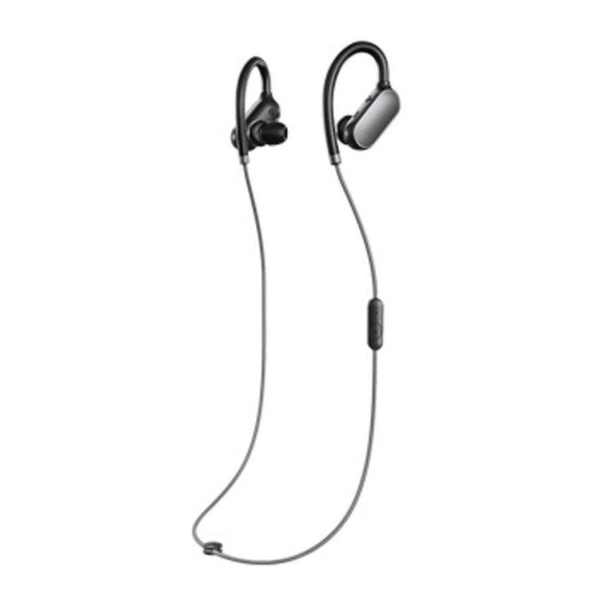 Original Xiaomi Mi Sports Bluetooth Headset Xiaomi Wireless Bluetooth 4.1 Music Sport Earbud In-ear Earphone IPX4 Waterproof & Sweatproof Long Standby Time with Mic Black - intl