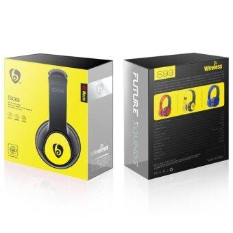 ประเทศไทย OVLENG S99 Over-ear Stereo Bluetooth 4.1 Headset Headphone with Mic Support TF Card/FM