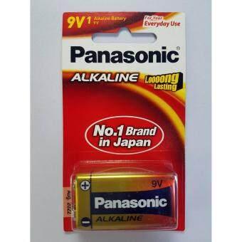 Panasonic Alkaline 9V แพ็ค 1 ก้อน จำนวน 12 แพ็ค