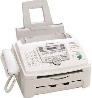Panasonic เครื่องโทรสารกระดาษธรรมดา ระบบ Laser รุ่น KX-FL612CX