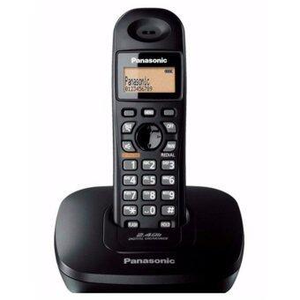 Panasonic โทรศัพท์ไร้สาย Panasonic รุ่น KX-TG3611 สีดำ