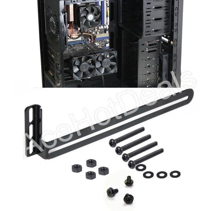 PCI Side-blown Graphics card cooling fan mount bracket - intl