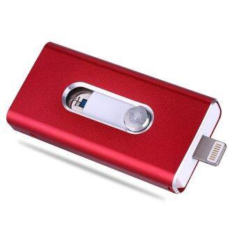 Pen Drive Usb OTG For iPhone iPad Flash Drive 64GB Usb Flash Card Usb Stick Flash Disk Key(Red) - intl