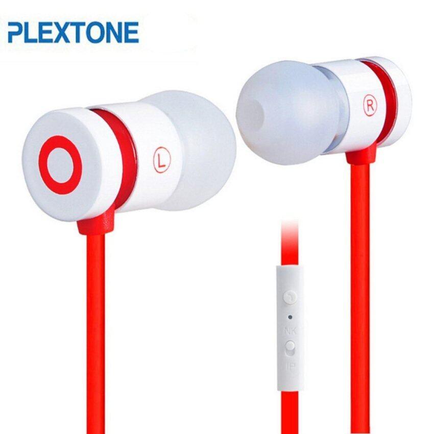 PLEXONE Universal 3.5mm Stereo Bass Phone In-Ear Headphone with Microphone - intl image