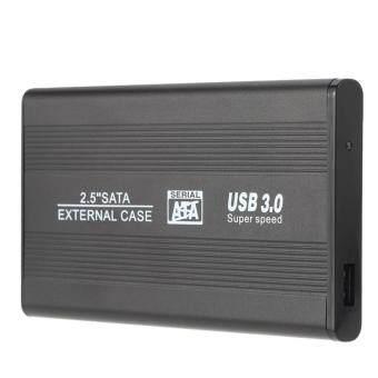 "Portable SATA 2.5"" USB 3 Hard Disk Enclosure Support 1 TB Hard Disk - intl"