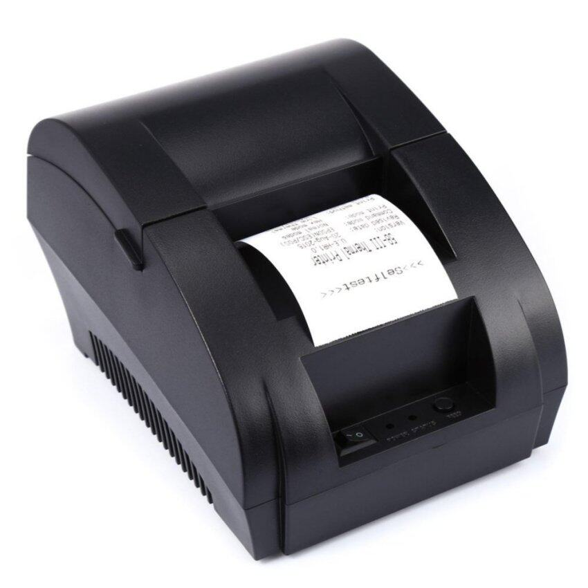 Portable Thermal Receipt Printer Barcode Label Printer USB Port 58mm For Restaurant and Supermarket Receipt - intl