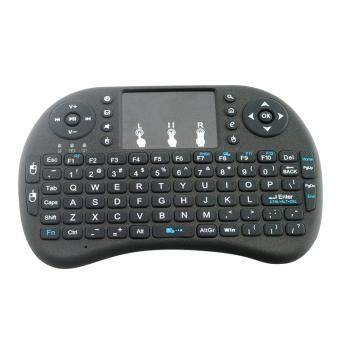 Portable Wireless Keyboard with Touchpad Keyboard Mouse Combo Mini For 2.4GHz Qwerty - intl