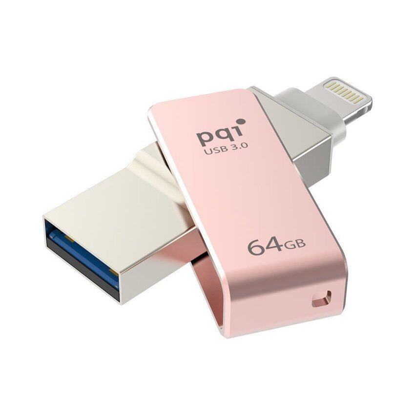 PQI iConnect mini 64GB Rose Gold