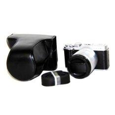 Pu Leather Camera Case Bag Cover For Fujifilm X-M1 X-A1x-A2black(camera Not Included) - Intl ราคา 486 บาท(-30%)