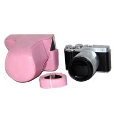 Pu Leather Camera Case Bag Cover For Fujifilm X-M1 X-A1x-A2pink(camera Not Included) - Intl ราคา 486 บาท(-30%)