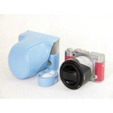 Pu Leather Camera Case Cover For Fujifilm X-A3 Xa316-50/18-55mmlens - Intl ราคา 484 บาท(-30%)