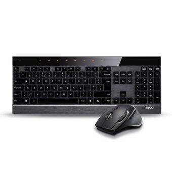 Rapoo Advanced Wireless Mouse & Keyboard 8900P (Black)