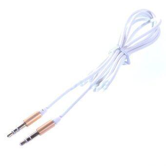 ราคา REMAX Cable 3.5 AUX Audio (1M,RL-L100) White