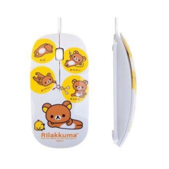Rilakkuma DV-LD308 Optical Mouse White