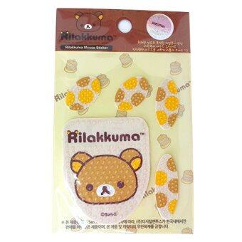 Rilakkuma Mouse Sticker Brown