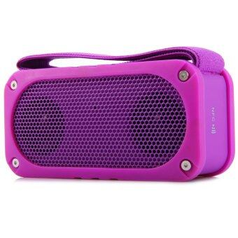 RUIZU D68 Bluetooth V2.1 + EDR Wireless Speaker Box Support TF Card for Music Phonecalls (PURPLE)