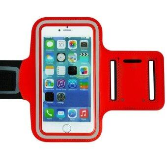 Running Jogging Sport Gym Armband Reflective Case Cover For iPhone iPhone 6 Red