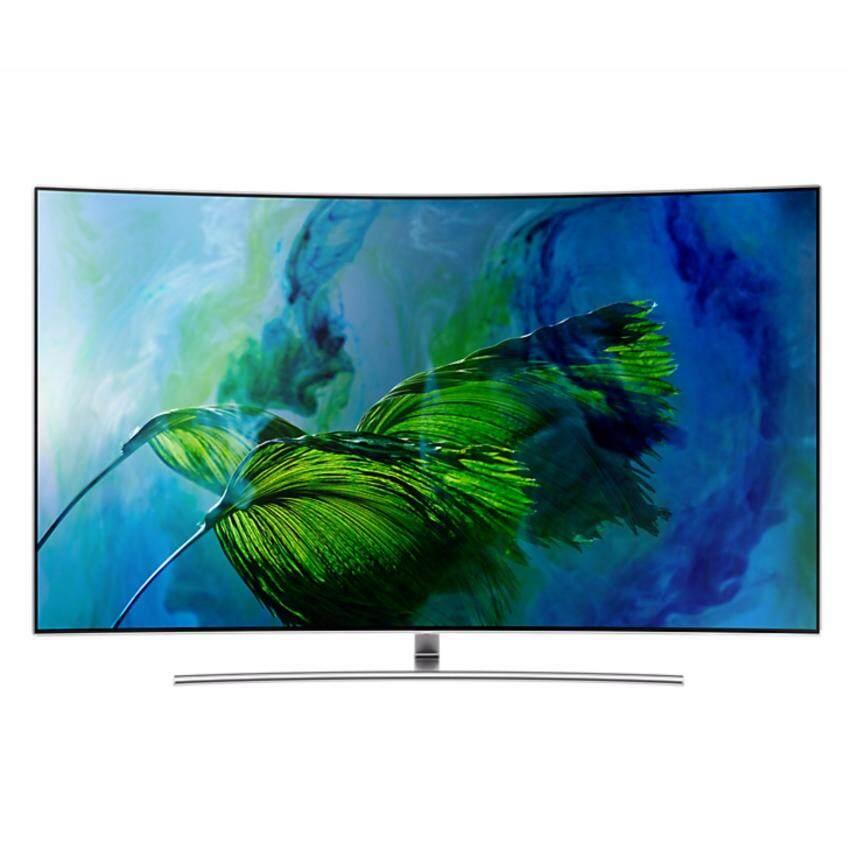 Samsung 75 QLED Curved Smart TV Series 8 QA75Q8CAMKXXT ฟรี! Premium Set รวมมูลค่า 12,980.-