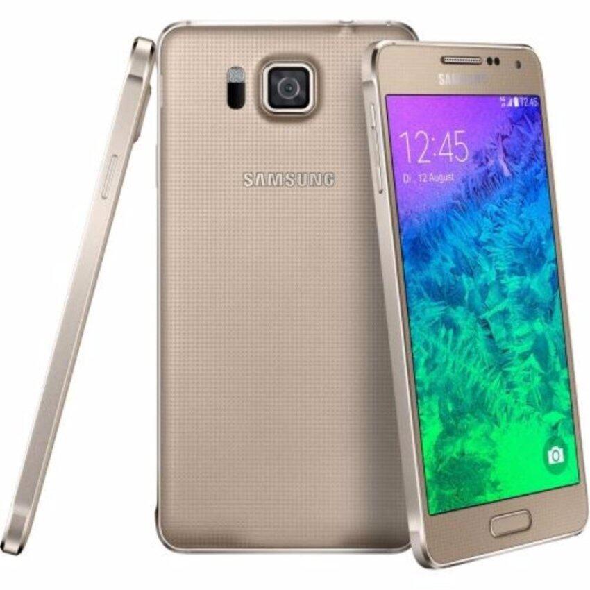 Samsung Galaxy Alpha 32GB GOLD (สินค้าตัวโชว์ไม่มีกล่อง)
