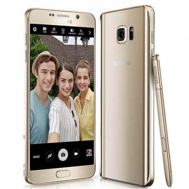 Samsung Galaxy Note5 32 GB (Gold) ประกัน samsung cybermate 3 เดือน
