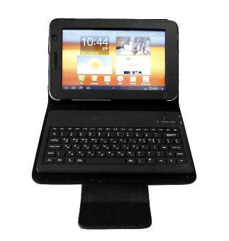 Samsung keyboard case for Samsung Galaxy Tab P6200 (สีดำ)