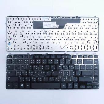 คีย์บอร์ด ซัมซุง - Samsung keyboard (ภาษาไทย มีเฟรม) สำหรับรุ่น NP350 NP350V4C NP355 NP355E4X NP355V4C
