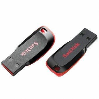 Sandisk Cruzer Blade USB Flash Drive 16 GB (Black) 1 แถม 1