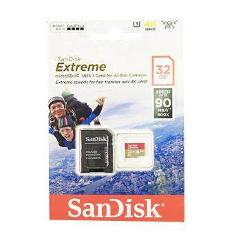 SanDisk Extreme Micro SD 32GB SDHC Class 10 UHS-I U3 V30 Card 90MB
