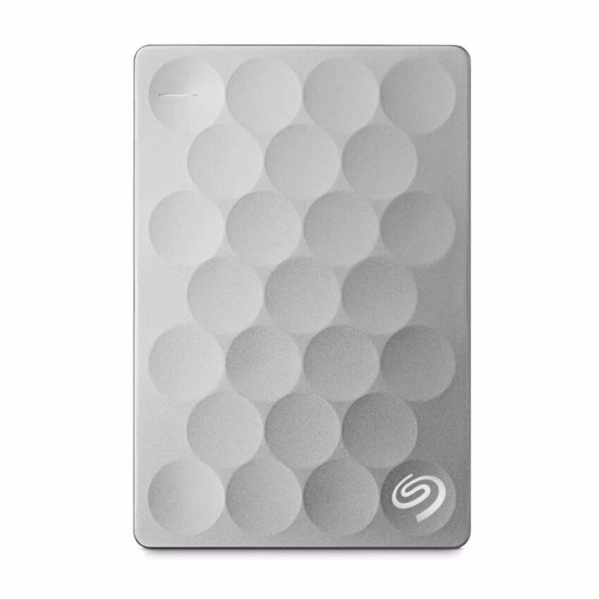 Seagate STEH2000300 Backup Plus Ultra Slim Portable Drives 2TB (Platinum)
